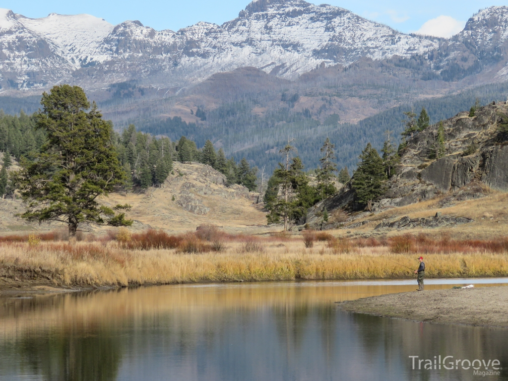 Yellowstone National Park - Hiking Past Pond.JPG
