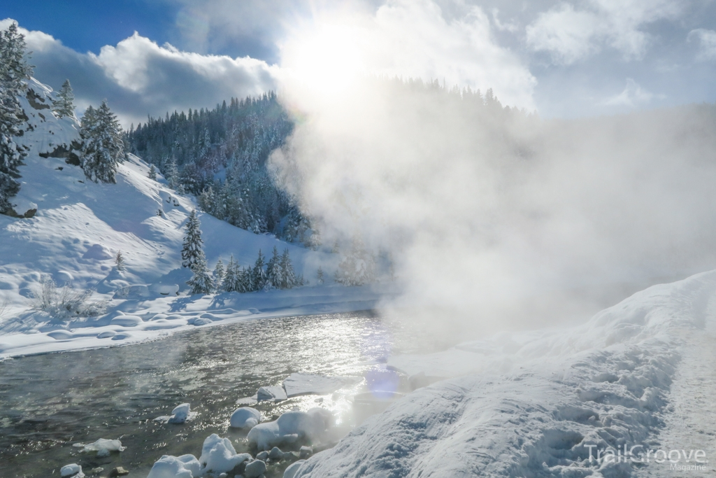 Idaho Hot Springs Winter Hiking