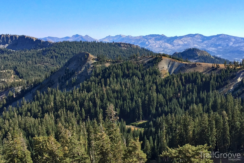 Granite Chief Wilderness on the Tahoe Rim Trail