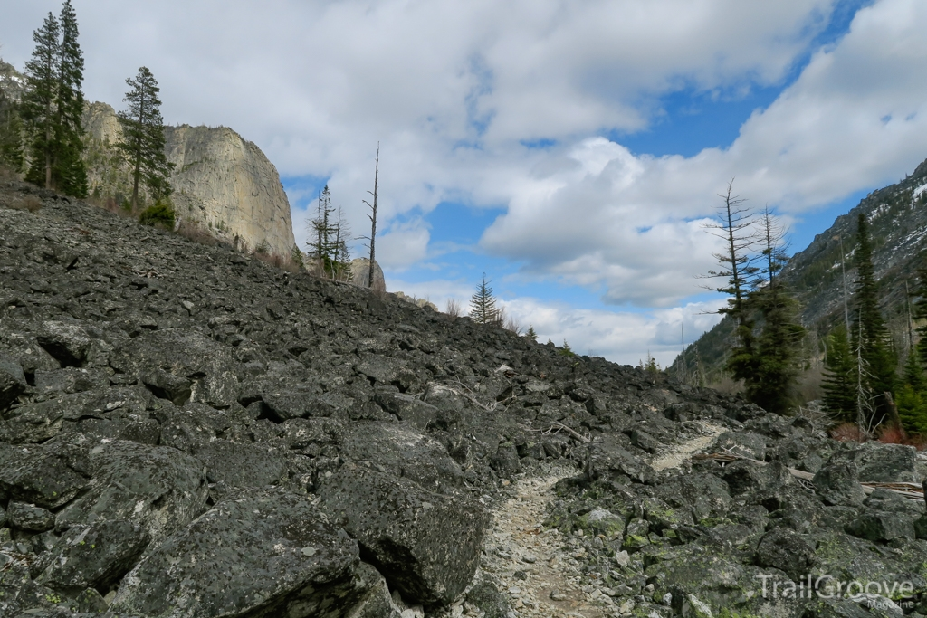 Backpacking Blodgett Canyon Montana