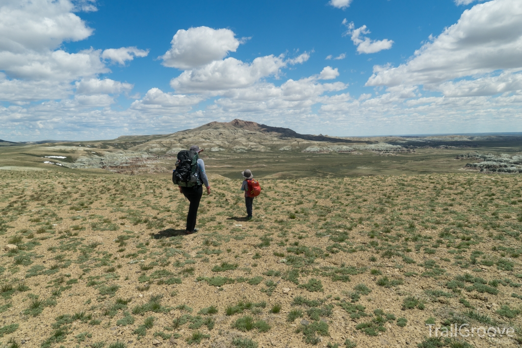 Hiking into the Wilderness Study Area, Wyoming