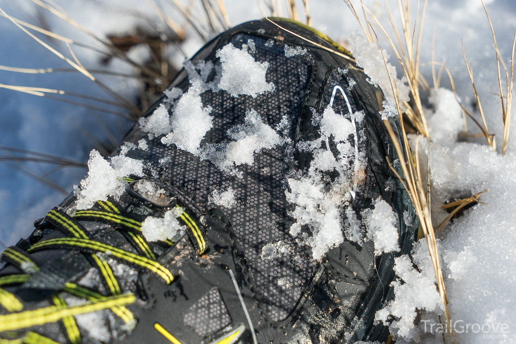 Altra Lone Peak NeoShell - Hiking in Snow