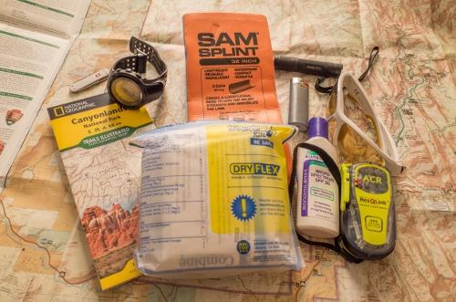 Backpacking and Hiking 10 Essentials - Ultralight Edition