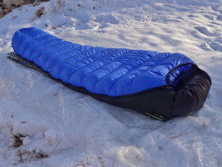Review Western Mountaineering Ultralite 20 Degree Down Sleeping Bag