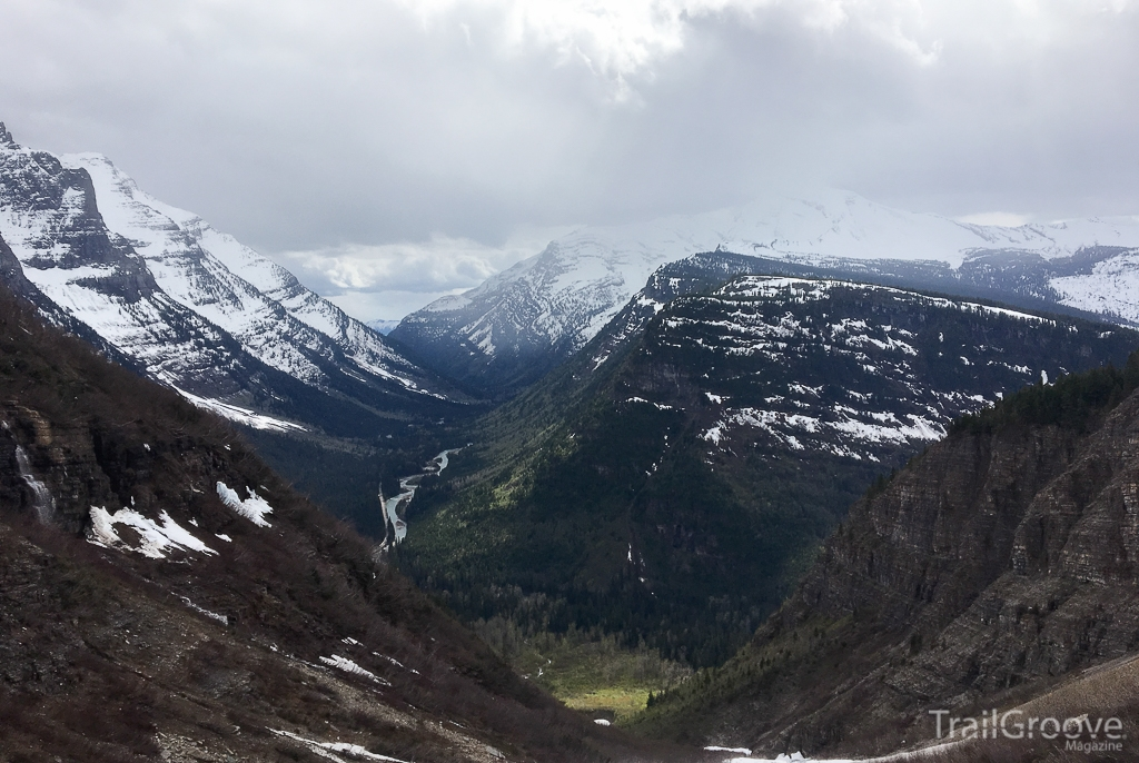 View in Glacier National Park