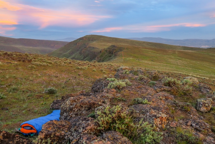 Backpacking the High Desert of Oregon - L.T. Murray Wildlife Area near Yakima