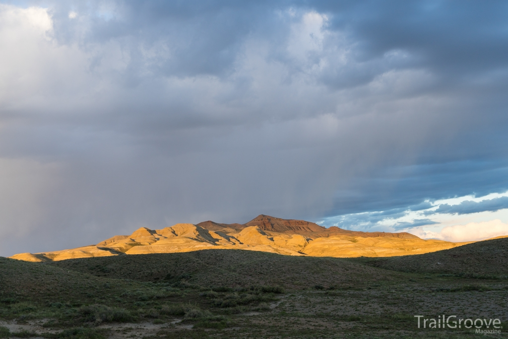 Sunset in Wyoming's Red Desert - Great Divide Basin