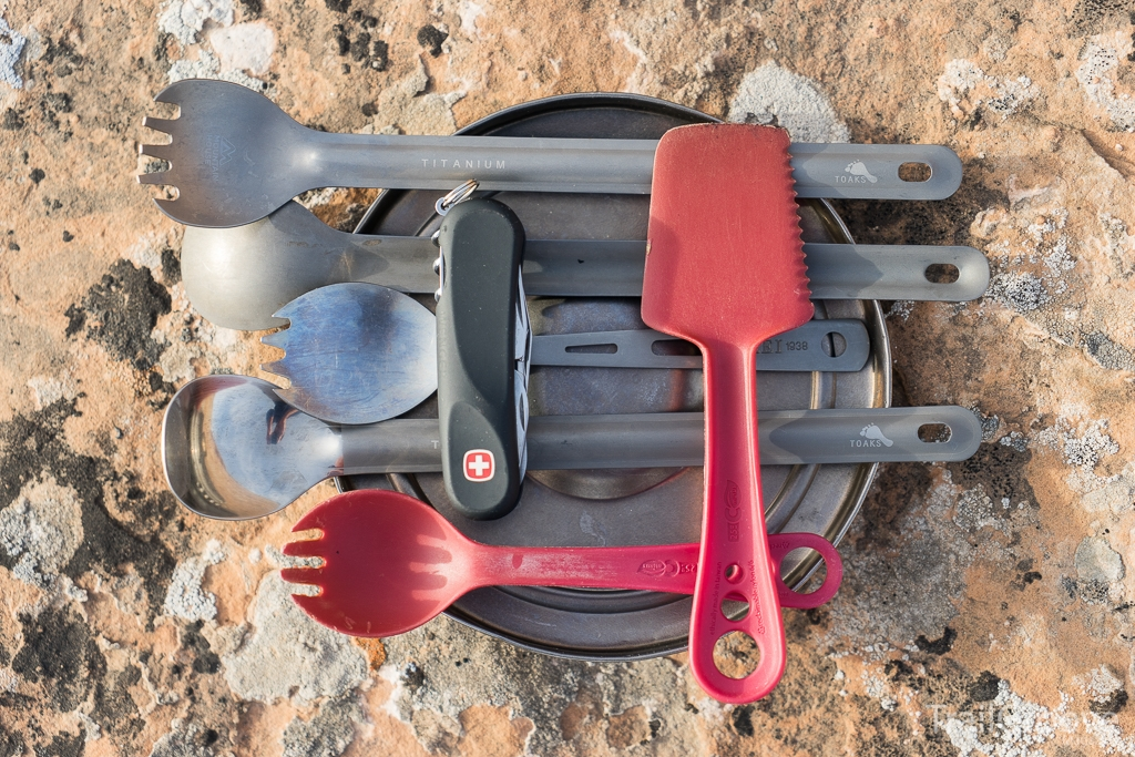 Backpacking and Camping Utensils