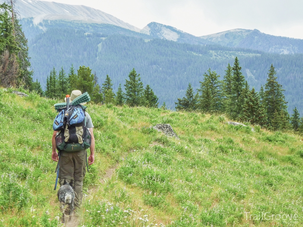 Hiking with the ULA Circuit Backpack