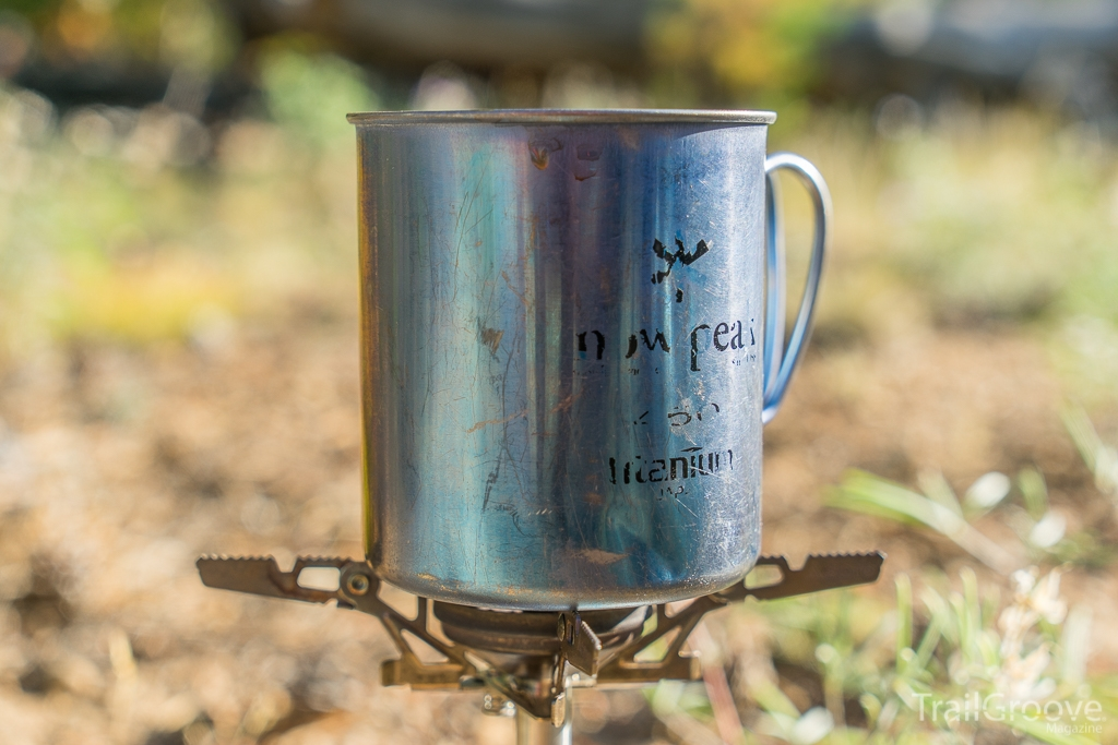 Snow Peak 450 Titanium Backpacking Mug - Single Wall