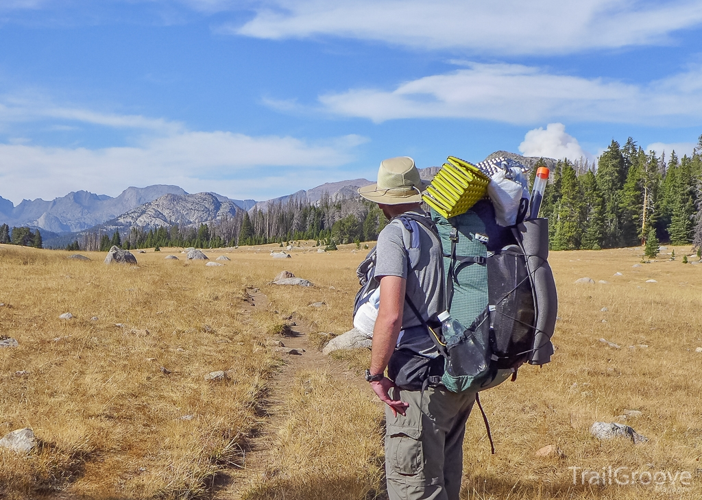 Carrying Bulky Closed Cell Foam Backpacking Sleeping Pads on the Outside of a Backpack
