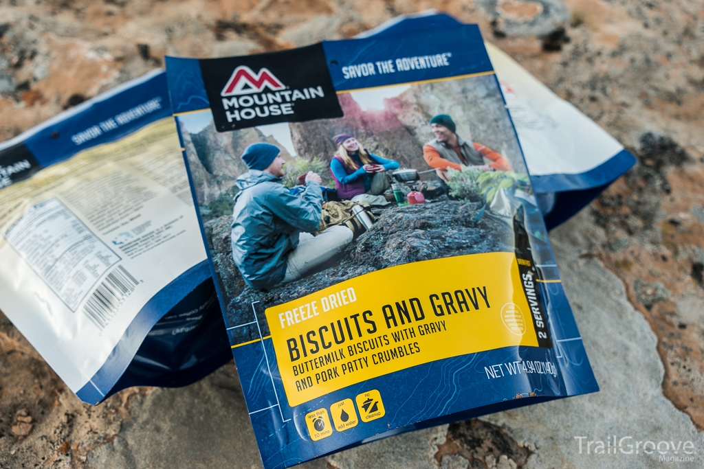 Mountain House Biscuits and Gravy Freeze Dried Backpacking Meal Review