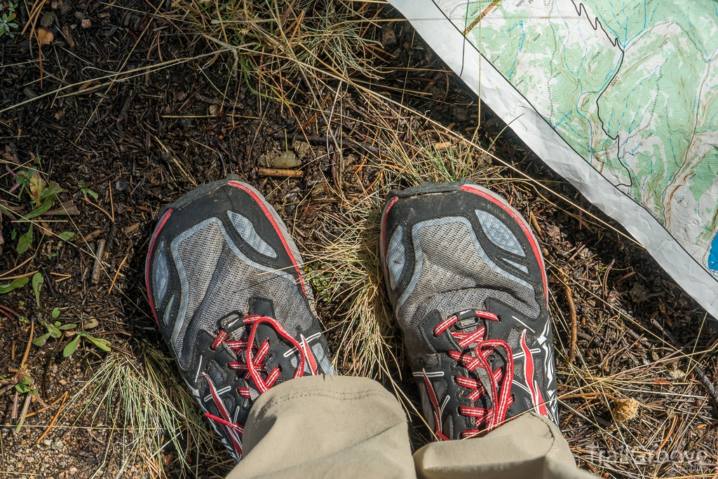 Summer Backpacking in Mesh Trail Running Shoes