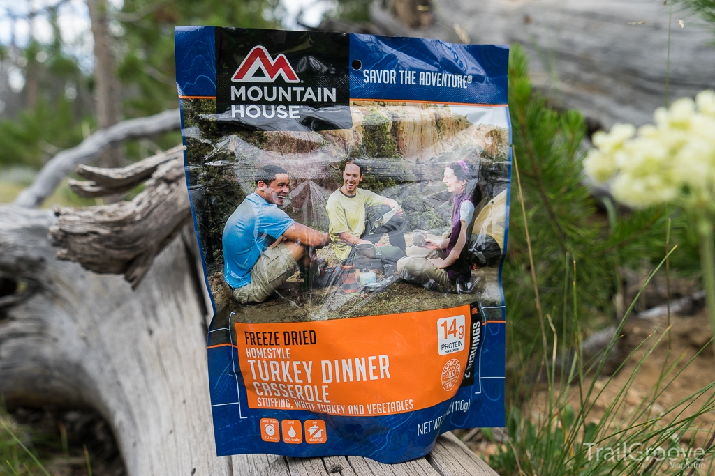 Mountain House Turkey Dinner Casserole Backpacking Meal Review