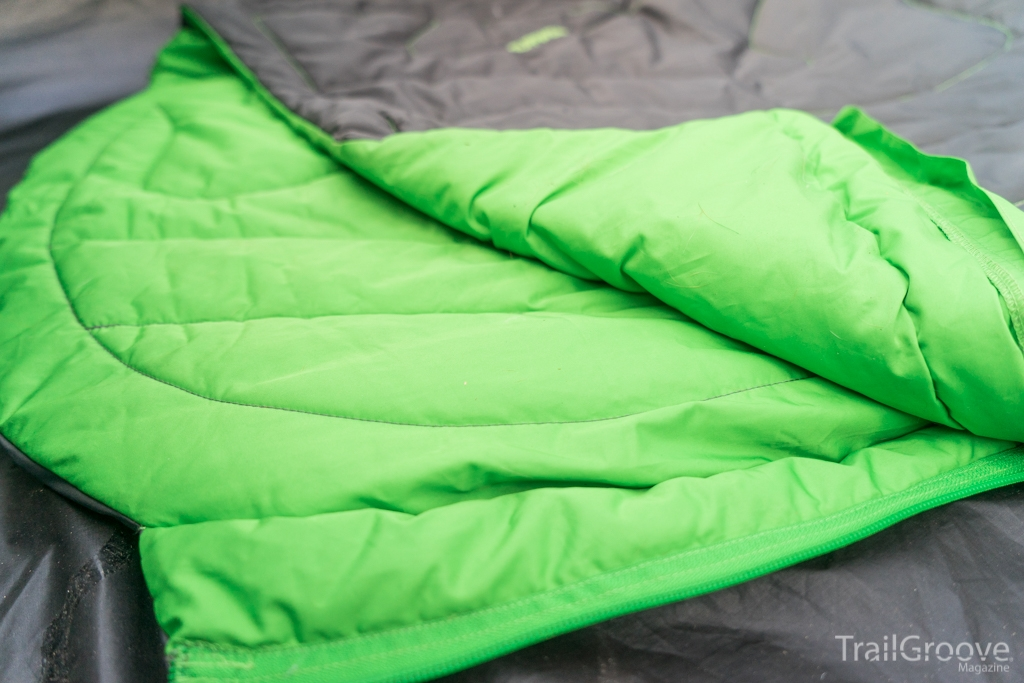 Synthetic Insulation is Used in the Ruffwear Sleeping Bag