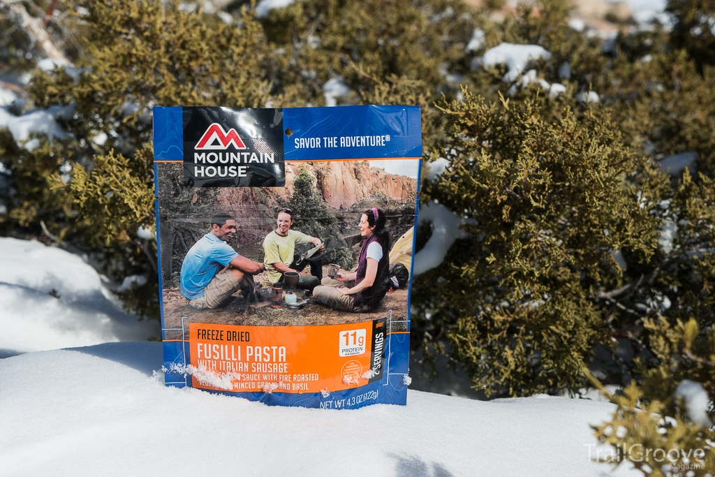 Mountain House Fusilli Pasta Backpacking Meal Review