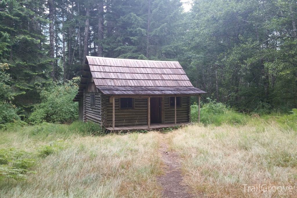 Historical Cabin in  Olympic National Park