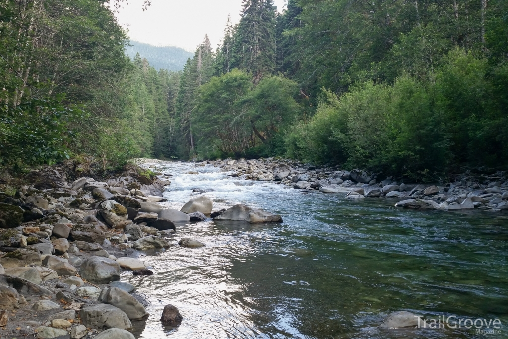 The Route went past many rivers including the Dosewallips, Elwha, Hayes, and Lillian Rivers