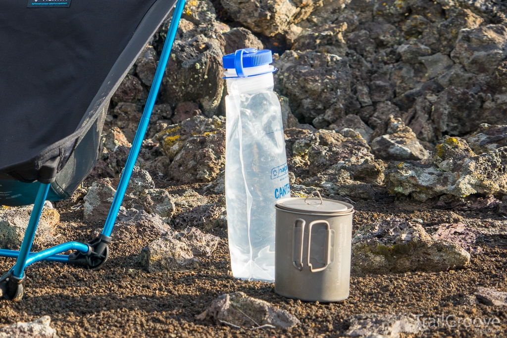 Nalgene Cantene Collapsible Backpacking Water Storage Container