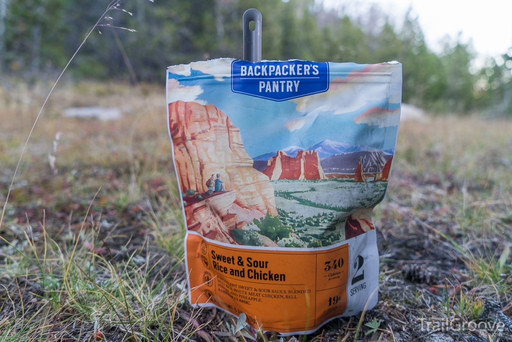 Backpacker's Pantry Sweet and Sour Chicken and Rice Review