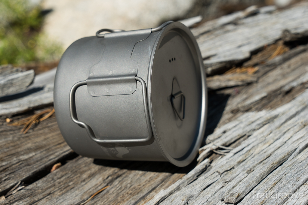 A Solo Size Mug and Backpacking Pot Combo from Toaks