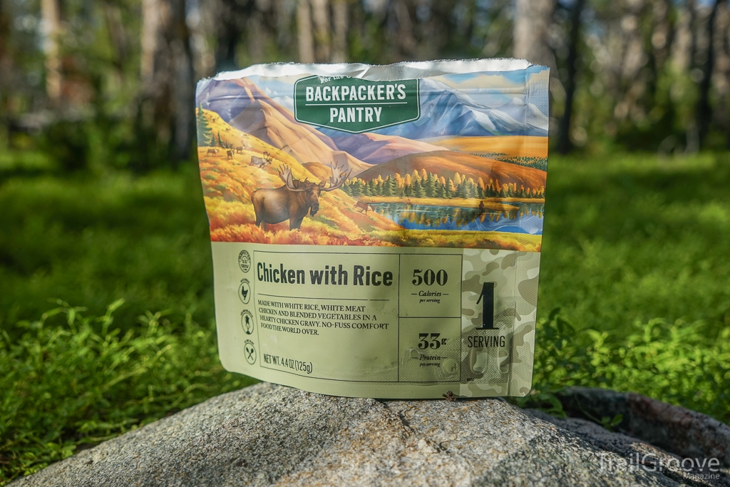 Backpacker's Pantry Outdoorsman Chicken with Rice Meal Review