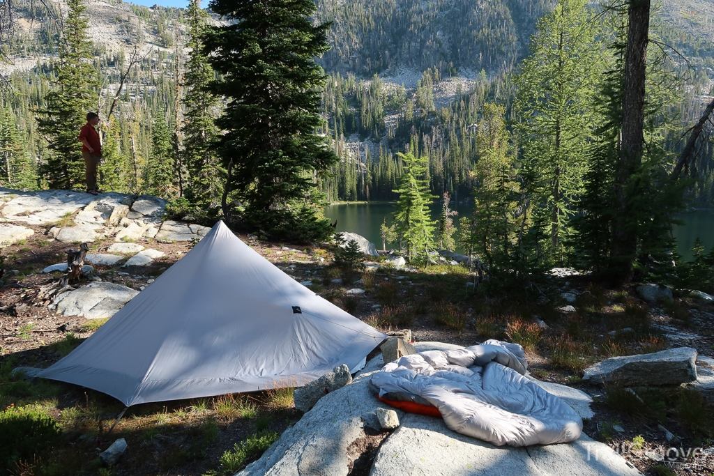 Bitterroot Mountains Backpacking Campsite