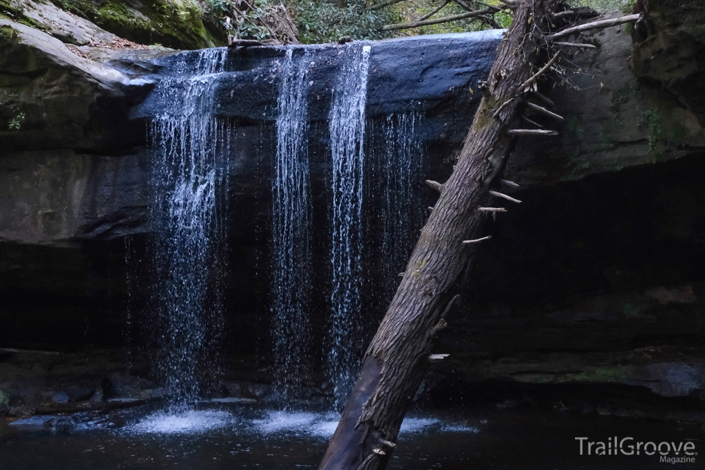 Waterfall in Daniel Boone National Forest