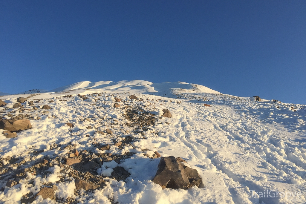 Hiking to the Summit of Mt. Saint Helens
