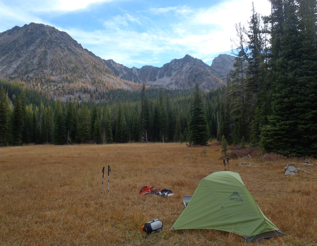 Backpacking in the Anaconda-Pintler Wilderness, Montana