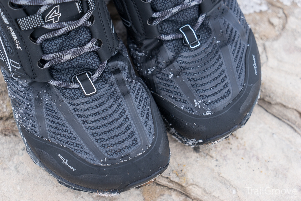 eVent Altra RSM Mid Boots - Toe Detail