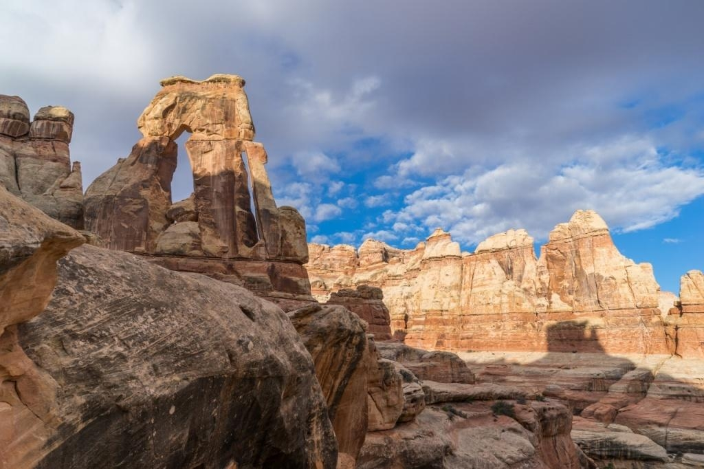 Backpacking in the Needles District, Canyonlands National Park