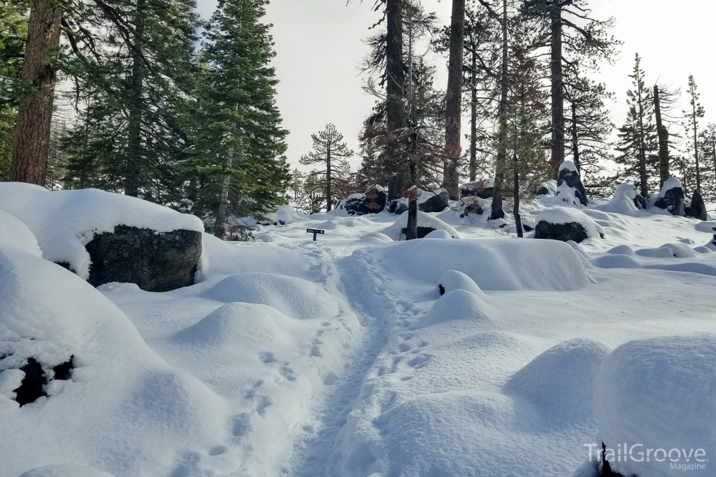 Hiking Yosemite in Winter