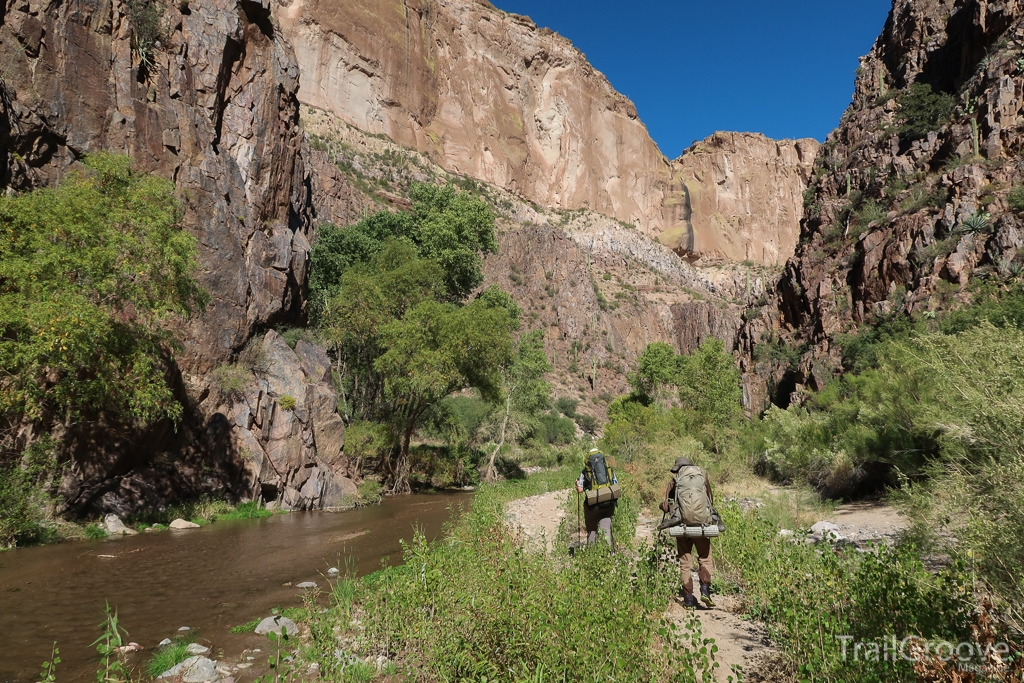 Hiking Through Aravaipa Canyon