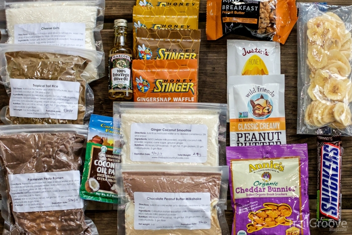 Backcountry Cuisine - The Ultralight Backpacking Food Bag